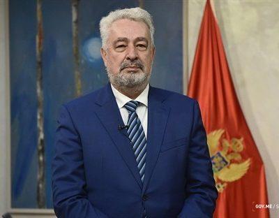 Krivokapić čestitao Dan Evrope: Stojimo snažno na evropskom putu i radimo sve da Crna Gora bude uređeno društvo