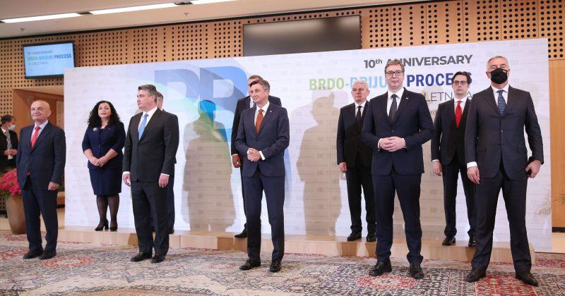 Vučić: Oko pitanja promjene granica nije bilo saglasnosti
