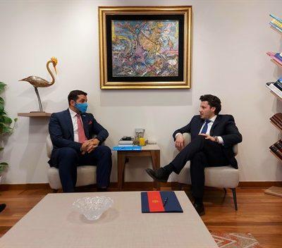 Santander – Abazović: Bez presedana brzina kojom se osnovao Savjet za prava djeteta