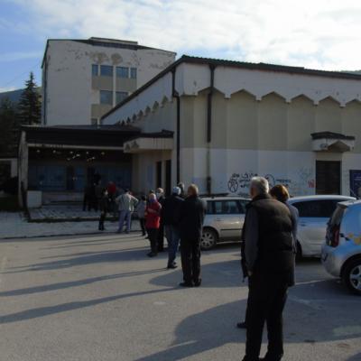 Pljevlja: Pao na punktu za vakcinaciju, životno ugrožen