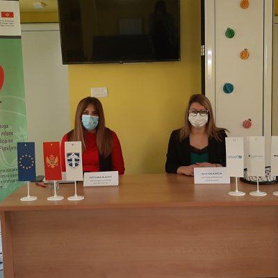 Predstavljene nove usluge u adaptiranom prostoru JU Dnevni centar za djecu sa smetnjama u razvoju i lica sa invaliditetom Pljevlja