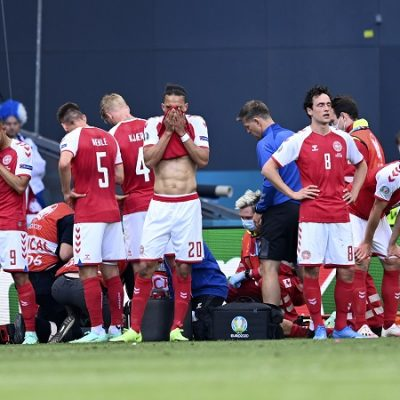 Suspendovana utakmica Danske i Finske