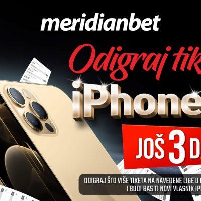 Samo jednim tiketom do nevjerovatnog Iphone-a 12!