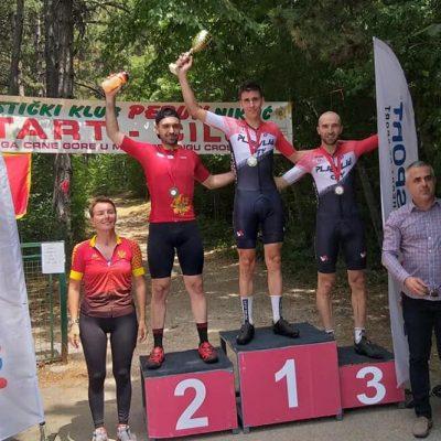Cerović trijumfovao u kategoriji Elite na nacionalnom šampionatu u planiskom biciklizmu