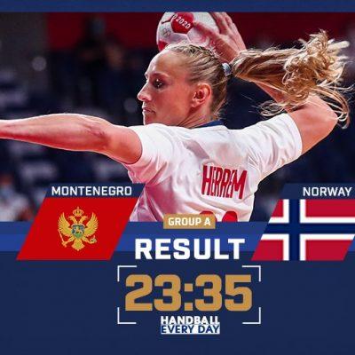 Ubjedljiv poraz rukometašica od Norveške