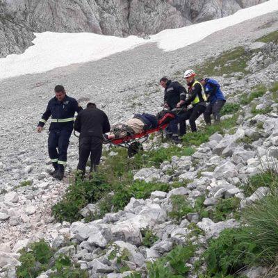 Akcija na Durmitoru: Spašena povrijeđena američka državljanka