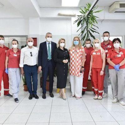 Borovinić Bojović: Jedinice hitne medicinske pomoći moraju maksimalno da se pojačaju