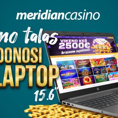 "Kazino talas ti donosi – Laptop HP 15.6"""