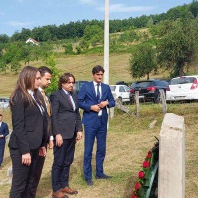 Prvi put nakon 77 godina državni vrh odao počast žrtvama zločina u selu Velika
