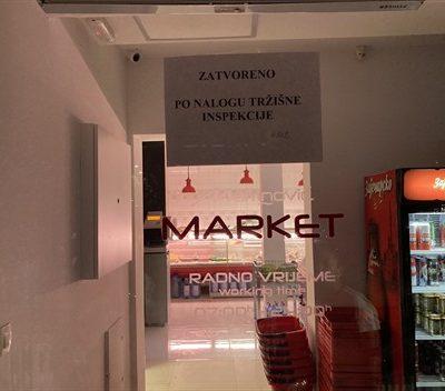 Zatvoreni marketi u Petrovcu i Kamenovu