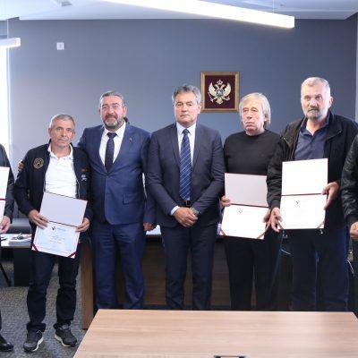 Uručene nagrade najboljim radnicima Rudnika uglja AD Pljevlja