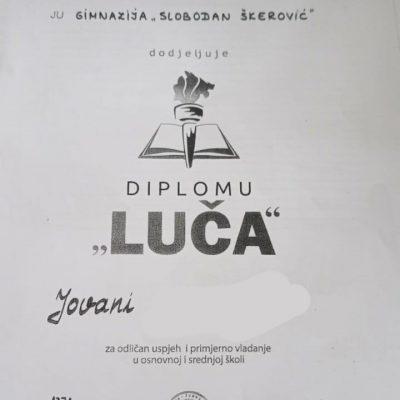 Bivša direktorica uručila lažnu diplomu Luče da bi učenica nastavila školovanje u inostranstvu