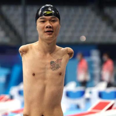 Kineski plivač bez obje ruke osvojio četiri zlatne medalje