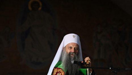 Patrijarh Porfirije danas stiže u Crnu Goru na ustoličenje episkopa budimljansko-nikšićkog Metodija