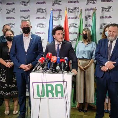 GP URA: Rekonstrukcija Vlade moguća samo na ekspertskom nivou