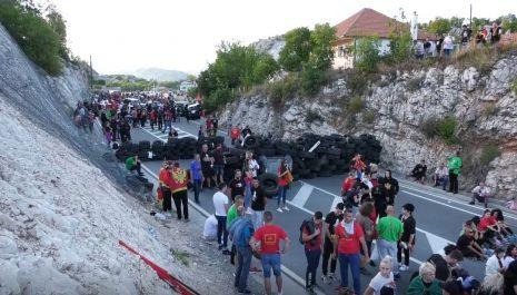 Zbog nereda na Cetinju podnijete prekršajne prijave protiv još deset osoba