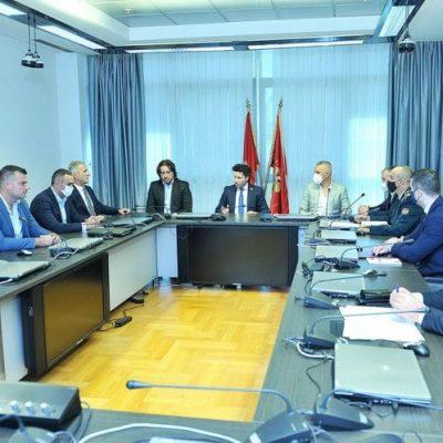 Formirana Komisija za analizu rezultata bezbjednosnog sektora na Cetinju