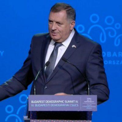 Dodik u Budimpešti poručio: Mi svakako nećemo biti primljeni u EU pa ja sada ne moram da vam se ulagujem