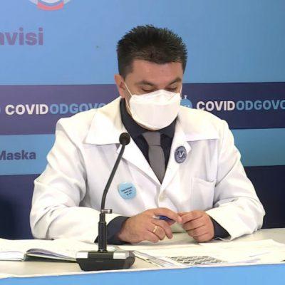 Galić: Svi preminuli mlađi od 40 godina bili nevakcinisani, gojaznost pojačani rizik