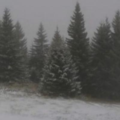 Prvi snijeg pao u Srbiji: Zabijeljele se dvije planine