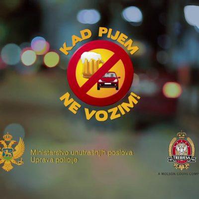 "Kampanja ""Kad pijem ne vozim"": Lišeno slobode 196 vozača"