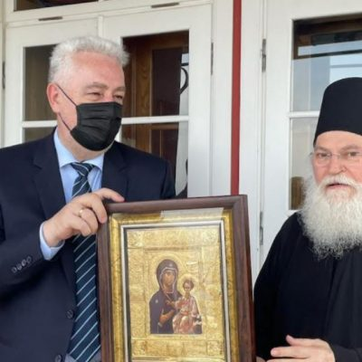 Troškove posjete Krivokapića Svetoj Gori platio crnogorski počasni konzul Vasili Apostolopoulos