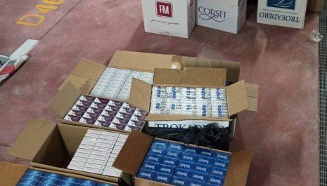 U Dobrakovu spriječen šverc cigareta vrijedan preko pola miliona