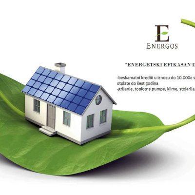 """Energetski efikasan dom"" uz ""Energos"" DOO"
