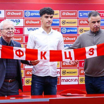 Lečić posle potpisivanja ugovora: Želim da jednog dana zaigram na Marakani pred punim tribinama