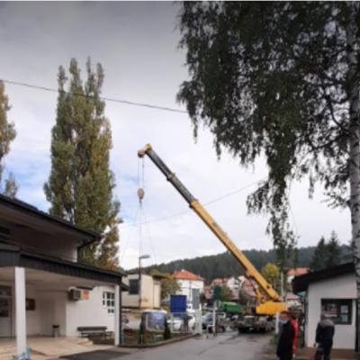 Rudnik uglja Pljevlja ustupio na korišćenje kontejner za Hitnu medicinsku pomoć u Pljevljima