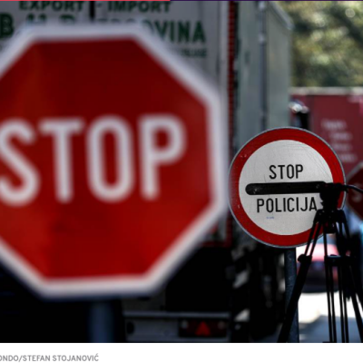 Incident na graničnom prelazu Ranče – PUN GAS, PA KROZ RAMPU, PRAVO U SRBIJU