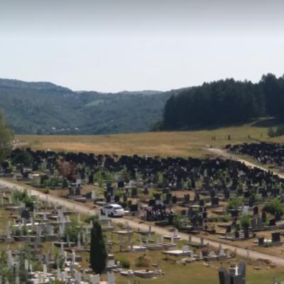 """Alarmantni podaci – Znatno povećan broj sahrana u pljevaljskom gradskom groblju """"Ravni"""""""
