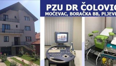 "U PZU ""Dr Čolović"" ordiniraju kardiolozi Prof. dr Jovan Peruničić i dr Erol Muratović"