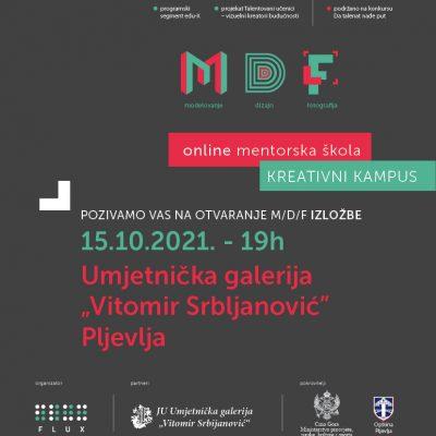 """Izložba M/D/F u galeriji """"Vitomir Srbljanović"""""""