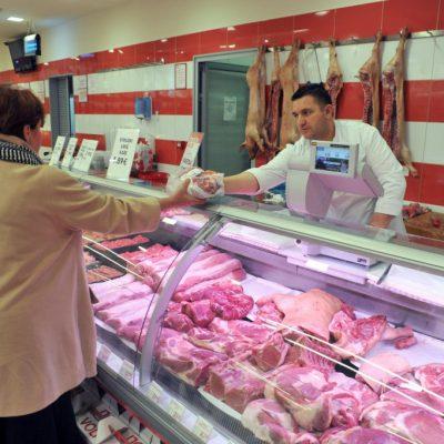 Za prvih sedam mjeseci Crna Gora uvozila 80 tona mesa dnevno