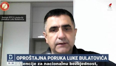 (VIDEO) Luka Bulatović u oproštajnom videu: Mislio sam da sam radio po zakonu, danas vidim da to nije tako