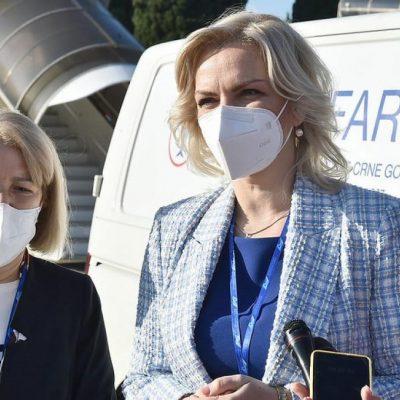 Borovinić Bojović: Molim građane da se vakcinišu, to je jedini način da spasimo svoje i živote najbližih