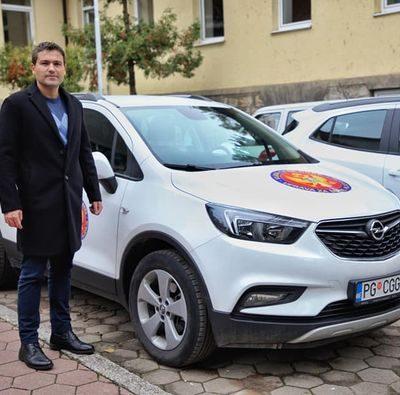 Pejović u Pljevljima, obilježena službena vozila Uprave za šume